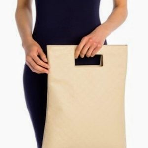 Cream Jackie Cut Out Tote